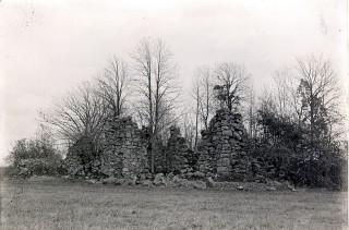 Kronobäcks klosterruin 1910