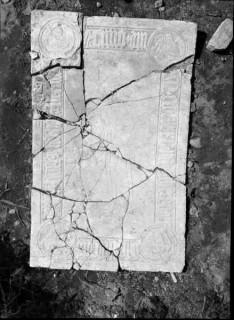 129, gravsten över medlem av ätten Thott, Före konservering