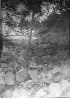 19, Manne Hofrén Klosterruinens inre mot väster