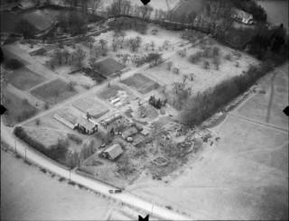 26, Klosterruinen och dess omgivning, Flygfoto