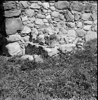 71, tornet västra fasaden södra strävpelaren