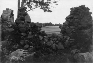 86, murpatri i nordväst sett inifrån foto Ivar Modéer 1927