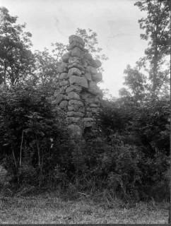 89, Vapenhuset, nordvästra hörnet, foto Manne Hofrén 1931